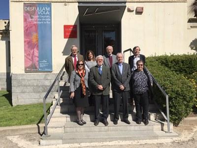 La nova junta (Foto: Fòrum de Síndics).