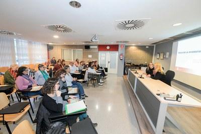La reunió s'ha celebrat al Rubí Forma (foto: Ajuntament de Rubí – Localpres).