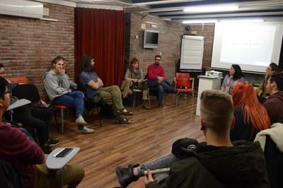 La reunió ha tingut lloc a l'Espai Jove Torre Bassas (foto: Localpres).
