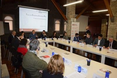 La sessió ha tingut lloc a la Masia de Can Serra (foto: Localpres).