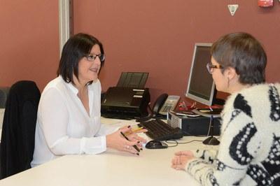 La Finestreta Única Empresarial és a la Masia de Can Serra (foto: Localpres).