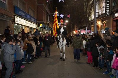Les entitats de Rubí també han participat a la cavalcada (foto: Localpres)