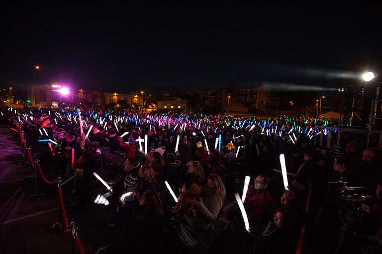 L'Escardívol s'ha omplert de llums (foto: Localpres)
