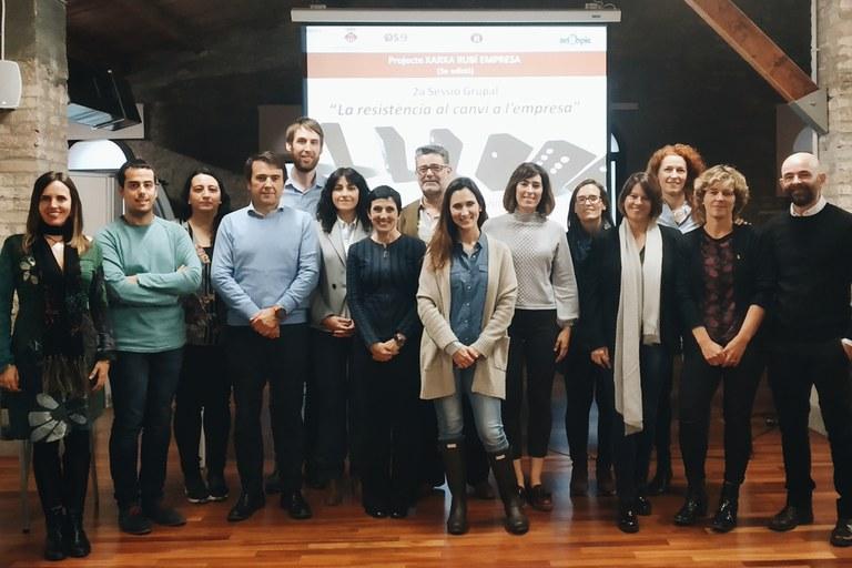 Participants a la sessió
