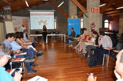 La primera sessió de grup ha tingut lloc a la Masia de Can Serra.