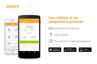 La nova app, que s'utilitza a més d'una seixantena de ciutats d'Espanya i Portugal, és molt intuïtiva i fàcil d'utilitzar.