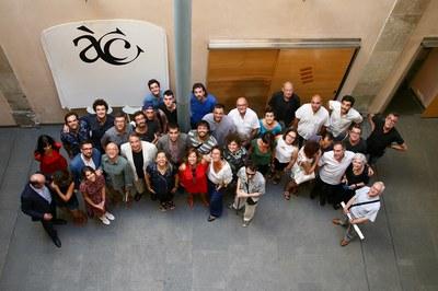 El Cicle Gaudí s'ha presentat aquest dimarts a l'Acadèmia del Cinema Català (foto: Acadèmia del Cinema Català).