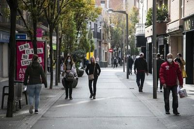Part de la informació es recollirà a través d'una enquesta al carrer (foto: Ajuntament de Rubí - Lali Puig).