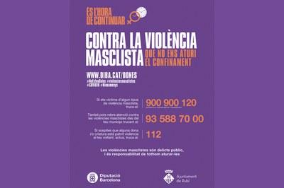 Cartell de la campanya de la Diputació.