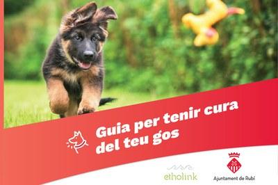 En el marc d'aquesta campanya, el consistori ha editat una guia per aprendre a tenir cura dels gossos.