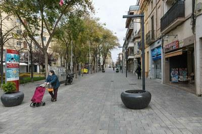 Les sortides s'hauran de valorar com a imprescindibles i sempre es produiran a prop de casa (foto: Ajuntament de Rubí - Localpres).
