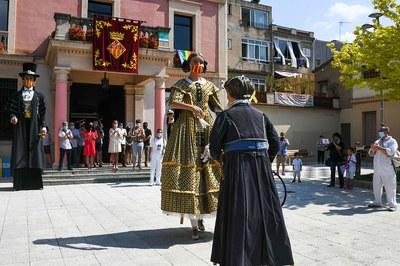 El 2020, es va celebrar la festivitat de Sant Pere amb un petit programa d'actes (foto: Ajuntament de Rubí - Localpres).