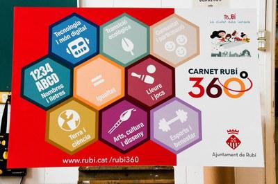 El carnet 360 té 9 competències (foto: Ajuntament de Rubí - Localpres).