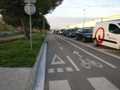 Un tram de l'avinguda de La Llana serà per vianants entre les 18 i les 23 h (foto: Ajuntament de Rubí – Localpres).