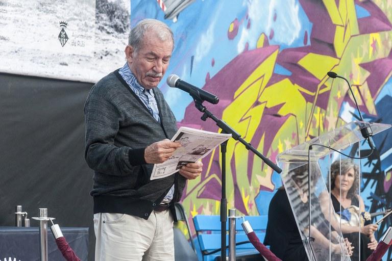 Josep Abarca ha recordat el testimoni de diversos supervivents de la tragèdia (foto: Cesar Font)