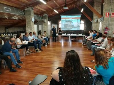 Una de les sessions de la Xarxa Rubiempresa de 2018 (foto: Ajuntament - Localpres).