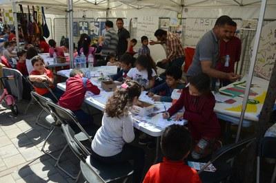 Els infants han pogut gaudir de diverses activitats (foto: Localpres).