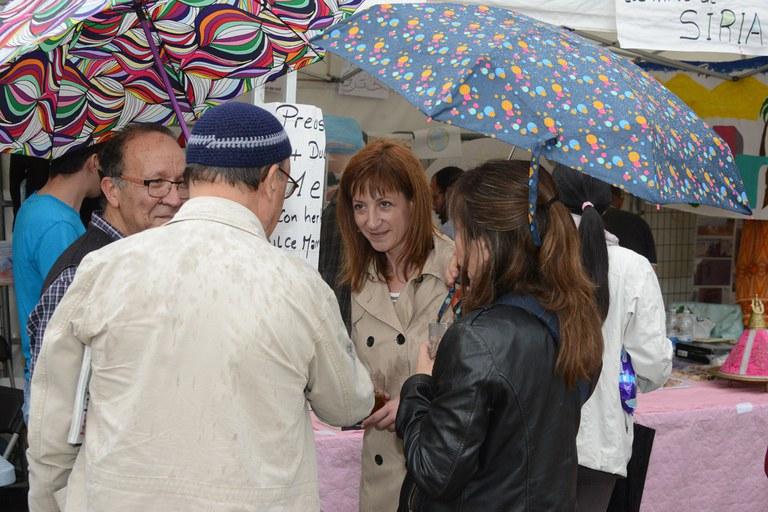 La regidora ha conversat amb les entitats (foto: Localpres)