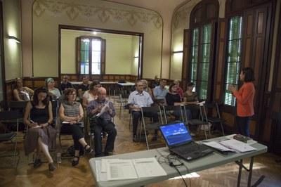 Sessió formativa per a entitats (Foto: Localpres).