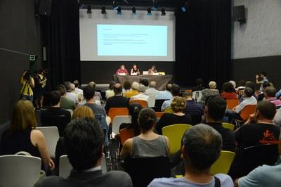La jornada participativa del Pla d'equipaments adreçada a les entitats ha tingut lloc al Centre Cívic del Pinar – La Cruïlla (foto: Localpres).