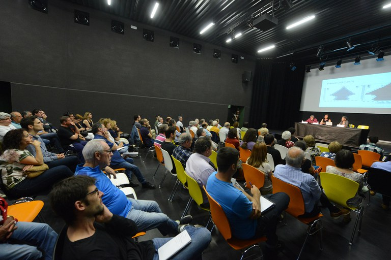 Una norantena de persones han participat en aquesta sessió (foto: Localpres)