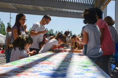 Un altre dels tallers per als infants (foto: Localpres)