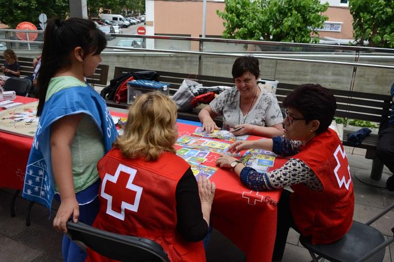 Creu Roja ha sensibilitzat la ciutadania a través del joc (foto: Localpres)