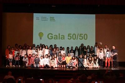 Tots els participants a la gala a La Sala (foto: Localpres).