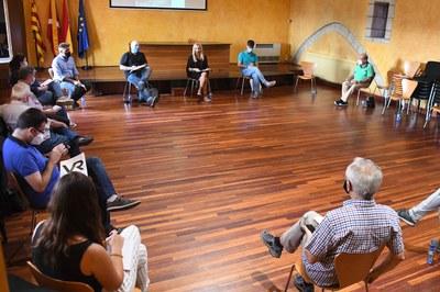 Els detalls de l'acte del proper 21 de setembre s'han donat a conèixer en el marc de la Taula de la memòria històrica (foto: Ajuntament de Rubí – Localpres).