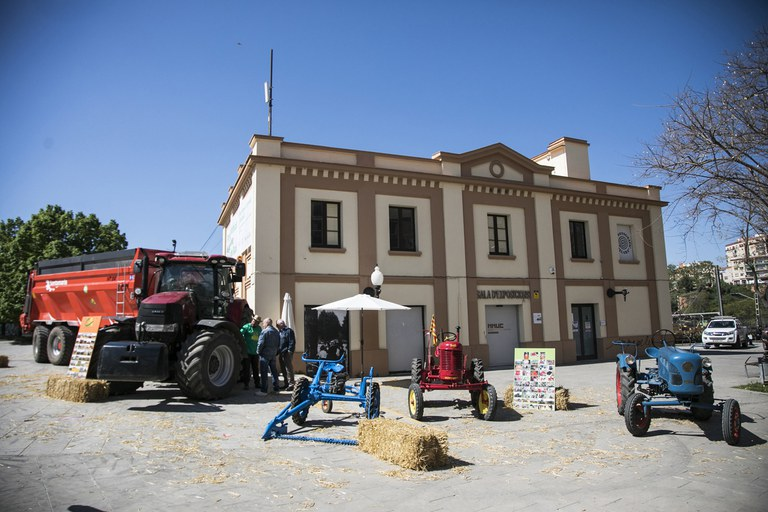 Com cada any, hi ha hagut una mostra de maquinària agrícola (foto: Ajuntament de Rubí – Lali Puig)