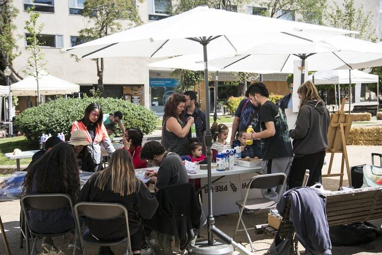 Durant la fira s'han dut a terme diversos tallers (foto: Ajuntament de Rubí – Lali Puig)