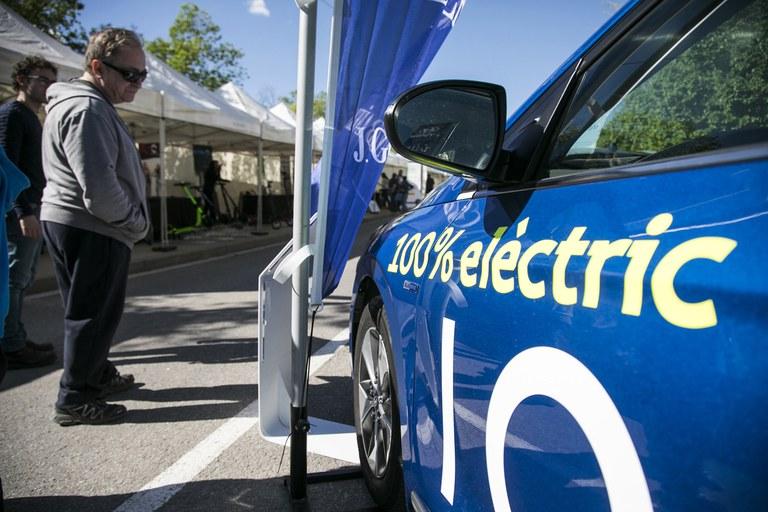 La Fira del Vehicle Elèctric ha tornat a ser un aparador de la mobilitat elèctrica i sostenible (foto: Ajuntament de Rubí – Lali Puig)