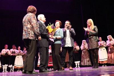 Albert Sans és l'autor de l'emblemàtica coreografia de l'Esbart rubinenc (foto: Ajuntament – Lali Puig).