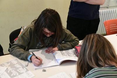 El taller d'il•lustració i còmic s'adreça tant a adolescents com a majors de 18 anys (foto: Ajuntament de Rubí – Localpres).