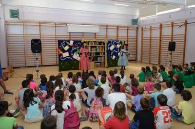 Casal d'estiu a l'Escola Teresa Altet (foto: Ajuntament de Rubí – Localpres).