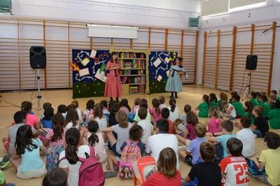 Casal d'estiu a l'Escola Teresa Altet (foto: Localpres).