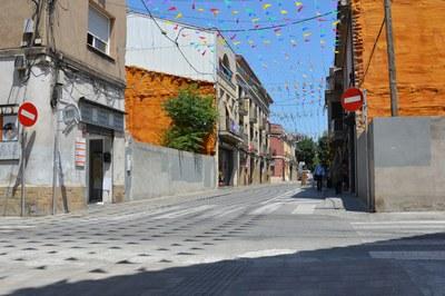 La confluència entre els carrers Doctor Robert i Justícia és una de les cruïlles on s'actuarà.