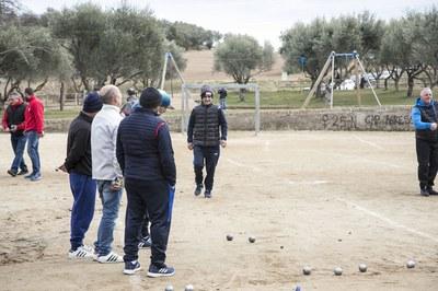 Imatge d'arxiu del 2n Open de Petanca de Invierno Ciudad de Rubí (foto: Ajuntament – Localpres).