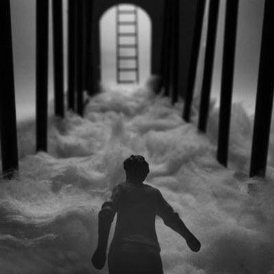 """Una de les fotografies de """"Perplexitat"""" (foto: Mercè Ribera)."""