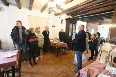 Enguany, la masia de Can Feliu també ha obert les seves portes al públic (foto: Localpres)