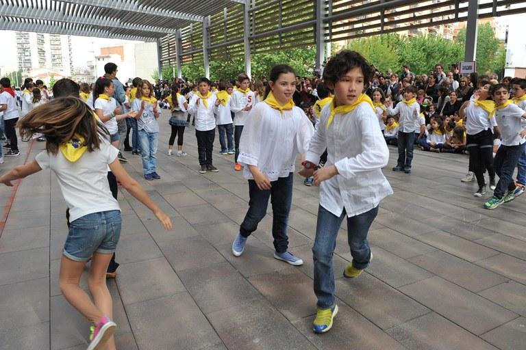 Hi han ballat nens de 2n i 4t de primària (foto: Localpres)