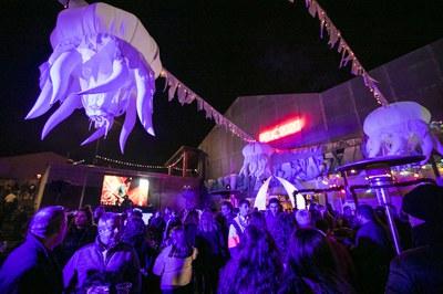 La festa de Cap d'Any ha tingut lloc a El Celler (foto: Ajuntament de Rubí - Lali Puig).