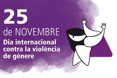 El 25 de novembre Rubí commemorarà el Dia Internacional contra la violència de gènere.