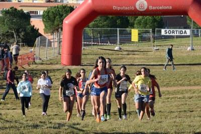 El 38è Cros Escolar es tornarà a disputar un any més al bosc de Ca n'Oriol (foto: Localpres).