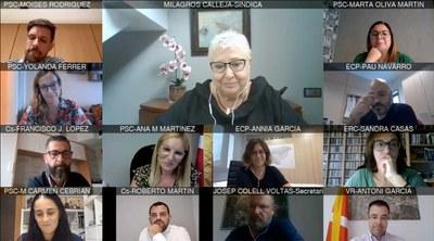 Tots els grups municipals han agraït el treball de Milagros Calleja.