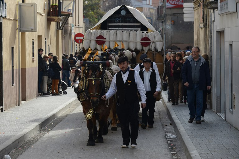 La tradició marca la rua dels Tres Tombs (foto: Localpres)