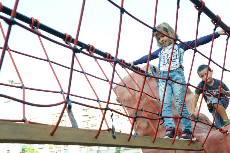 Les activitats esportives han atret molts nens i nenes (foto: Localpres)