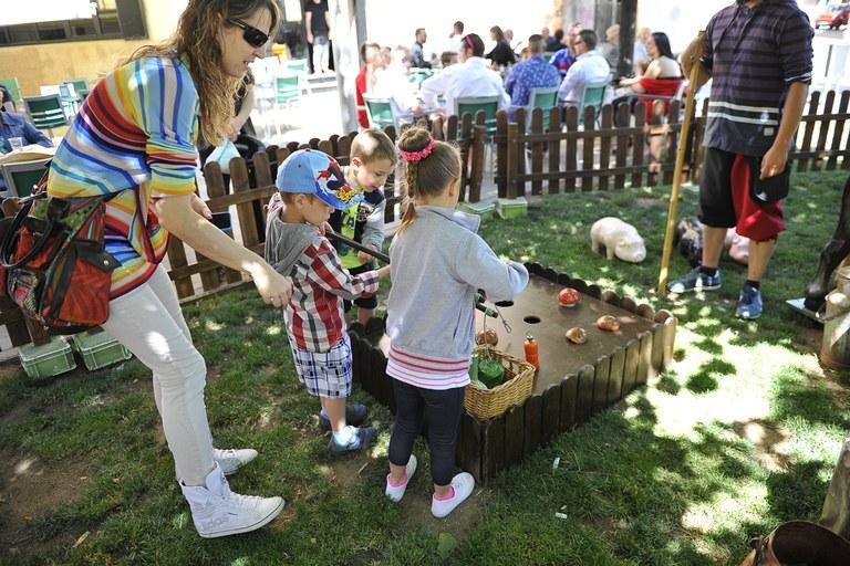 La fira s'ha completat amb diverses activitats (foto: Localpres)
