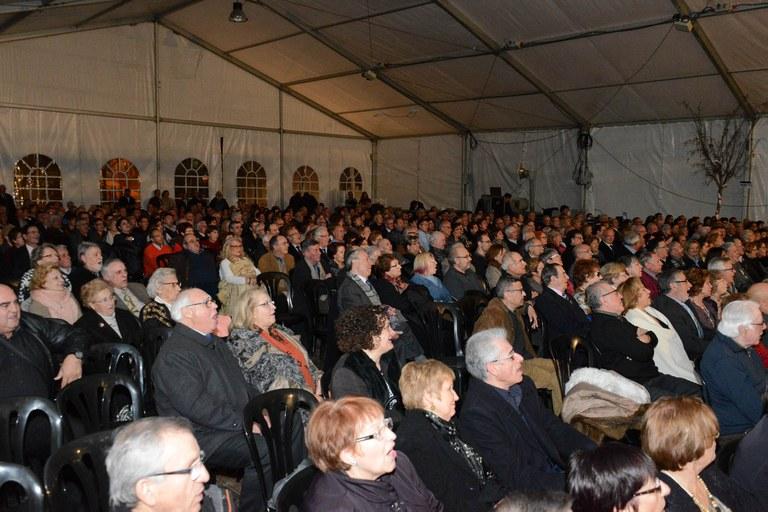 Concert a l'envelat de la plaça del Doctor Guardiet (foto: Localpres)