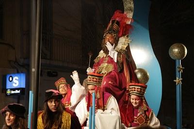 El rei Gaspar (foto: Localpres)